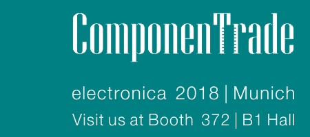 ComponenTrade will Exhibit and Present its Latest Magazines at electronica 2018, Booth B1. 372